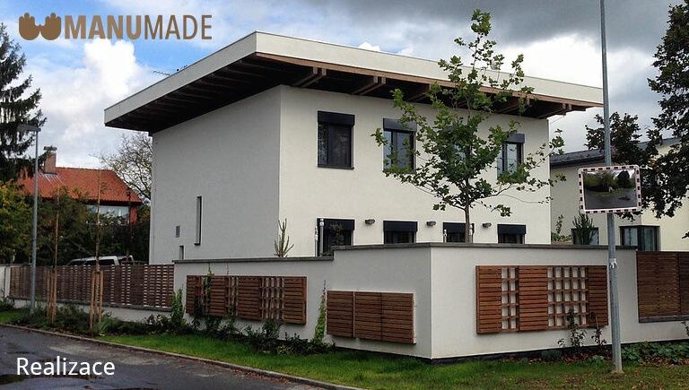 Realizace rodinného domu od firmy Manumade
