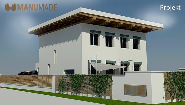 Projekt rodinného domu od firmy Manumade