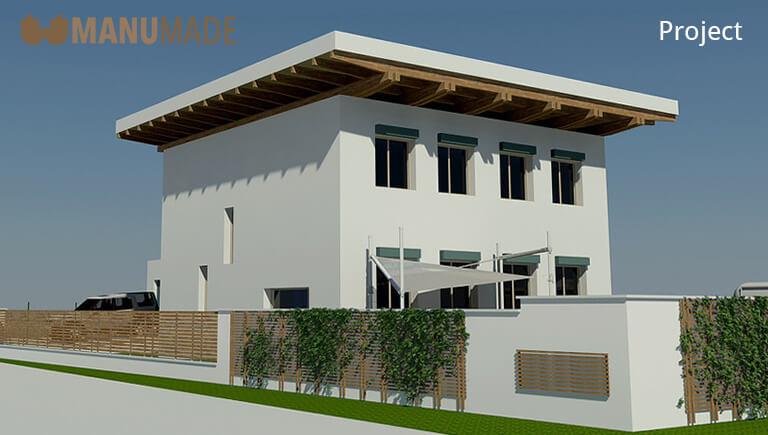 Manumade s.r.o. | House render